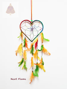 Heart Flame Dreamcatcher