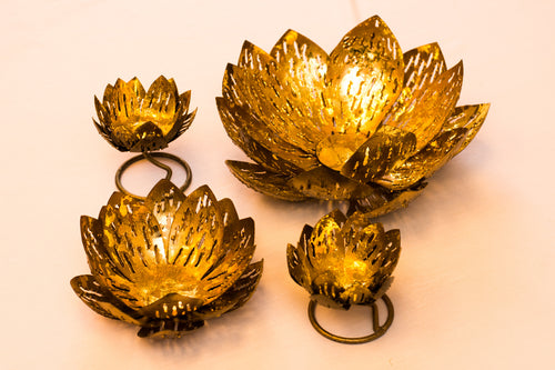 Lazer Cutwork Lotus Set