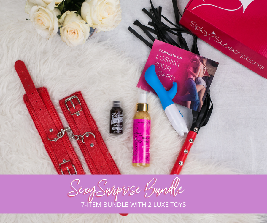 7-Item Sexy Surprise With 2 Luxe Toys