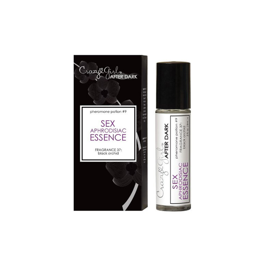 Crazy Girl After Dark Sex Aphrodisiac Essence - Black Orchid - 3 oz.