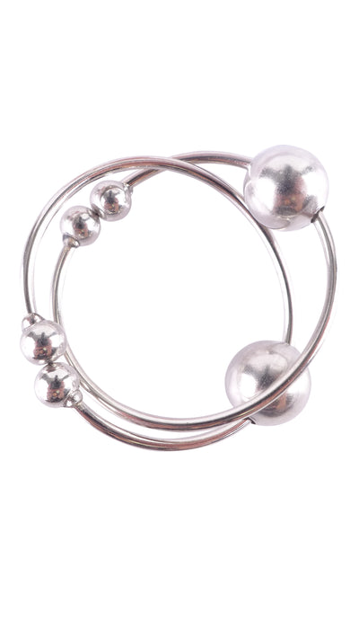 Pipedream - Fetish Fantasy Series Silver Nipple Bull Rings