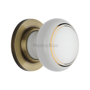Gold Line Knob with base