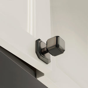 Wright Perla Knob With Square Back Plate
