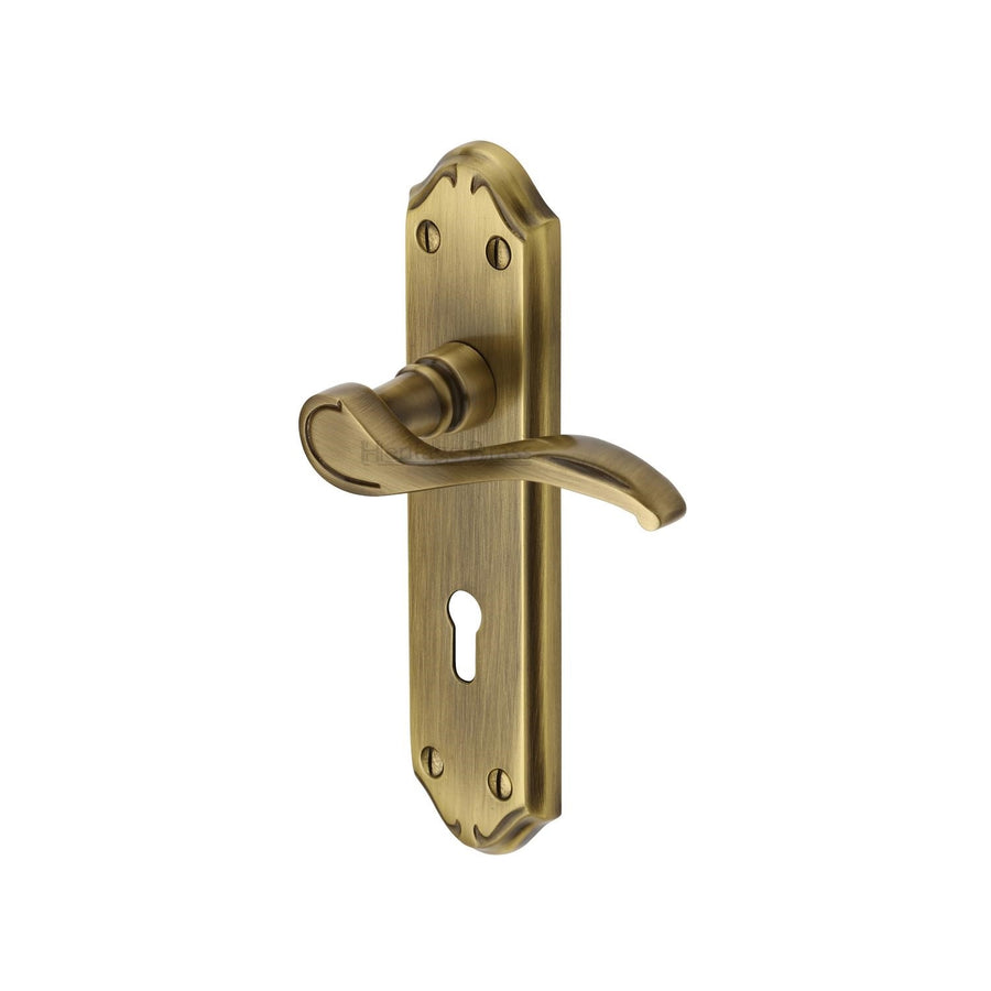 Door Handle Lever Lock Verona Small Design