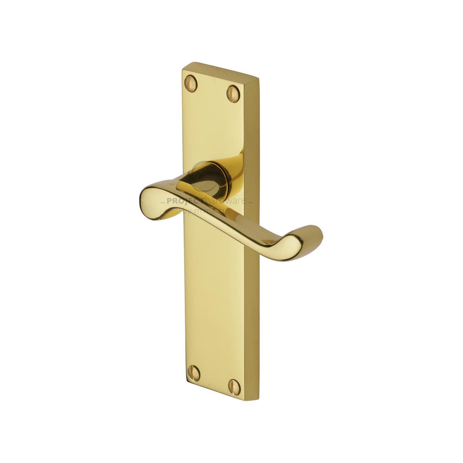 Project Hardware Door Handle Lever Latch Malvern Design