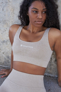Resilience Sports Bra (Sand)