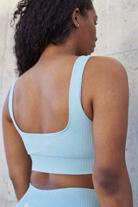 Resilience Sports Bra (Baby Blue)