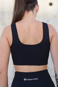 FLOW Sports Bra (Jet Black)