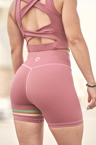High waisted workout shorts, workout shorts, women workout shorts, compression shorts, high waist shorts, gym short, fitness shorts, compression women shorts, pink gym shorts, pantalones cortos rosa