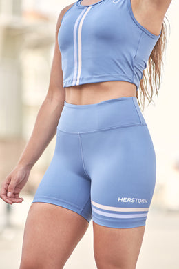 gym shorts blue women, blue tight fit training shorts, training shorts, blue workout shorts, compression blue workout shorts, army gym shorts, herstorm shorts, shorts for gym blue