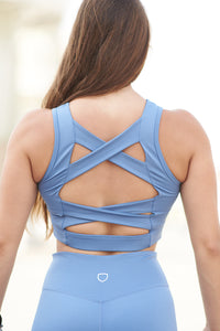 Crop top, gym crop top, workout top, gym top, open back gym top, criss cross top, workout crop top, urban fitness brand, urban fitness women, women crop top sport, women crops workout, herstorm crop top