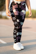 Troops Squad Military Workout Leggings (Military Green)