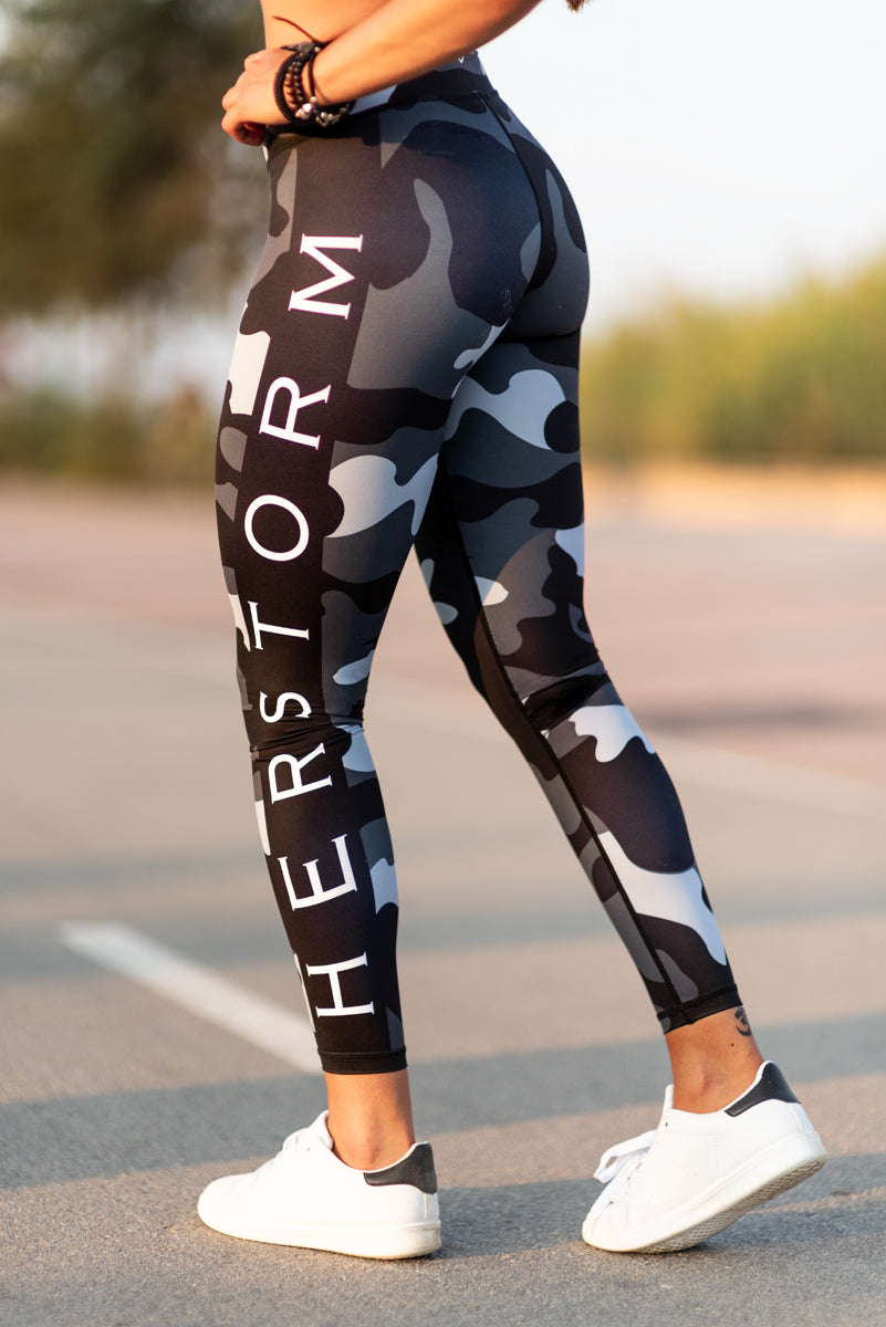 767141e1fe Troops squad workout leggings, Camo tights women, Troops leggings, Army  troops leggings, ...