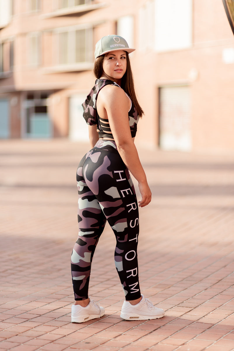 16fc81df Troops Squad Workout Leggings (Military Green)