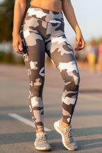 Troops Squad Military Workout Leggings (Grey)