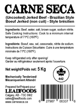 Load image into Gallery viewer, CARNE SECA (Uncooked) Jerked Beef - Brazilian Style 5 Kg BULK CANADIAN LABEL