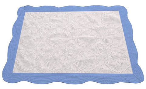 Quilt blank for GlitterFlex machine embroidery