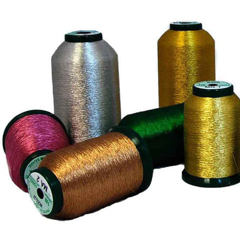 SewInspiredByBonnie.com Metallic Thread