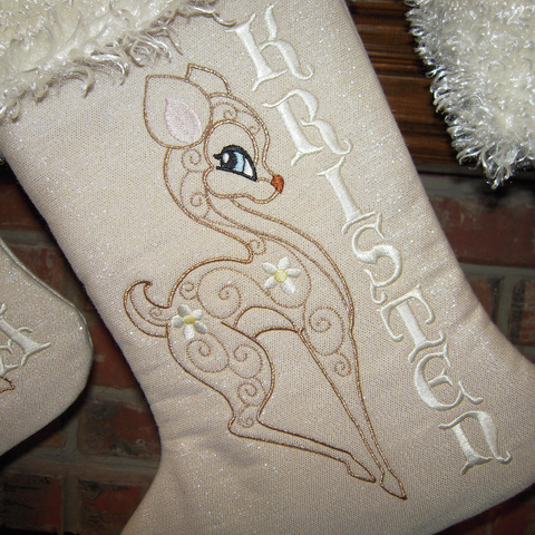 Free stocking pattern SewInspiredByBonnie.com