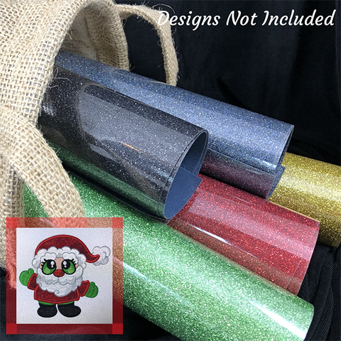 Santa Buddies GlitterFlex Bundle at Sew Inspired by Bonnie