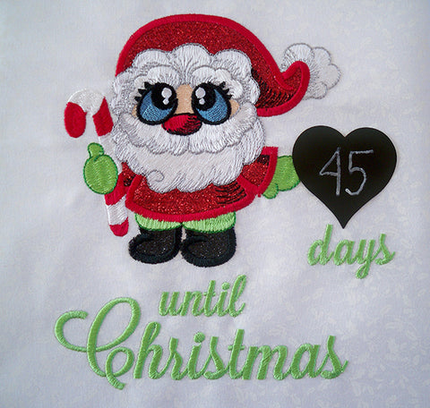 SewInspiredByBonnie.com Santa Buddies Christmas Countdown Project