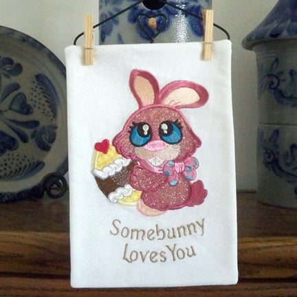 Somebunny Loves You With Bunny Buddies by SewInspiredbyBonnie.com