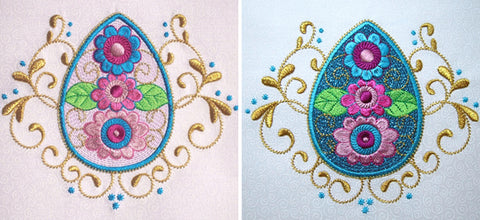 Easter machine embroidery designs by Sew Inspired by Bonnie