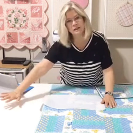 SewInspiredByBonnie.com Quilting With Magnetic Hoops Technique