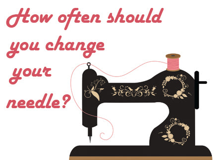 How often should you change your needle?