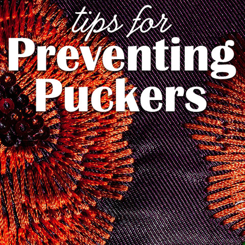 Sew Inspired by Bonnie Tips for Preventing Puckers