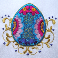 Eggsquisite Jewels 5x7