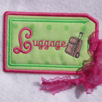 Luggage Tags Set 2 5x7
