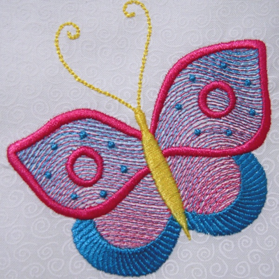 Butterfly Bliss 4x4