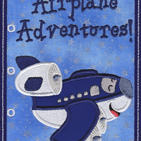 Airplane Adventures Book 5x7