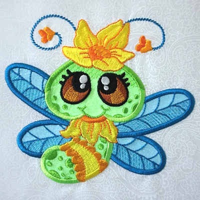 Dragonfly Buddies 5x7