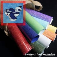 Airplane Adventures GlitterFlex Sheets