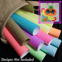 Dragonfly Buddies GlitterFlex Sheets
