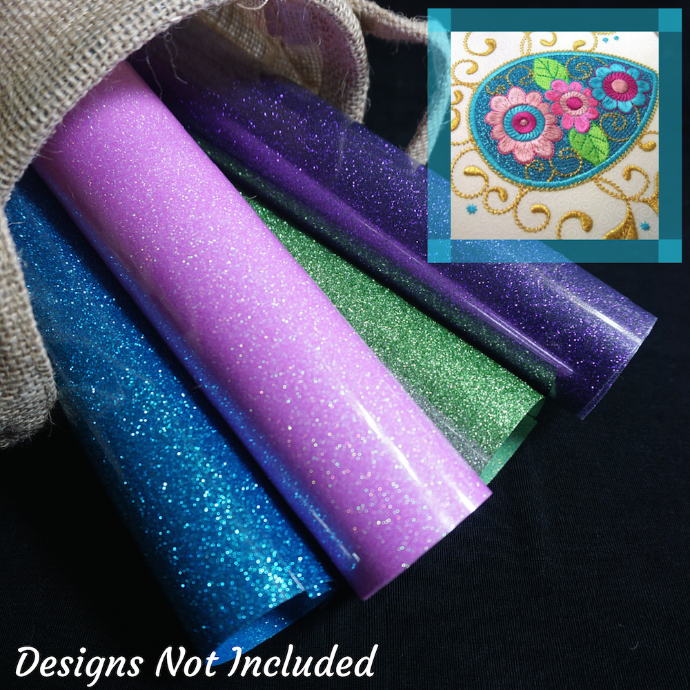 Eggsquisite Jewels GlitterFlex Sheets