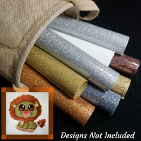 Zoo Buddies GlitterFlex Sheets