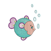 Tiny Bubbles 5x7