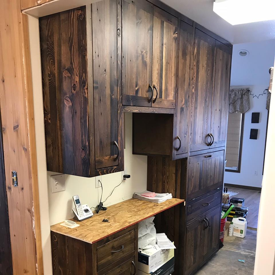 Barnwood Kitchen Remodel | Mortise + Tenon Woodworks