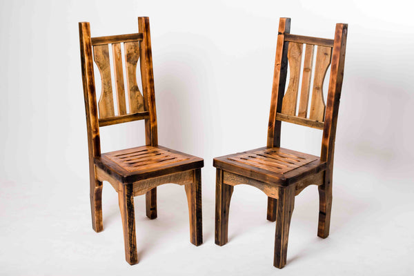 Striated Dining Chair