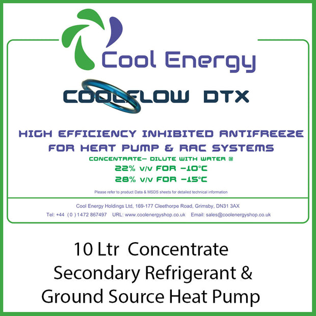 Coolflow DTX 10L Inhibited Glycol CE-CFDTX10