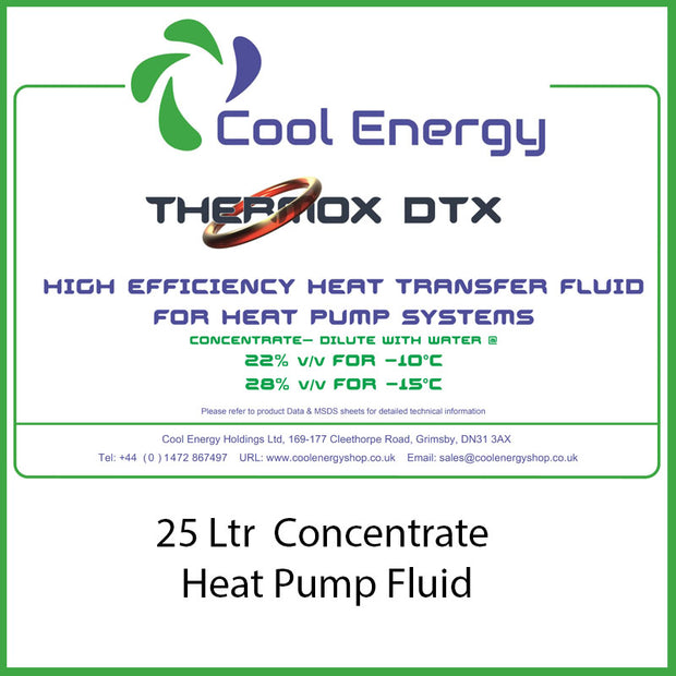 Thermox DTX 25L Inhibited Glycol CE-TMDTX25