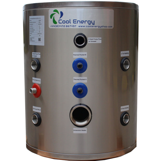Cool Energy 120L Stainless Buffer Tank CE-B120