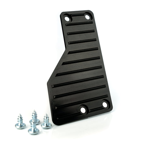 AMT Motorsport Gas Pedal Extension. Black anodized with screws
