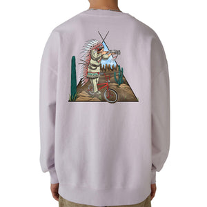 """Shoot"" Light Pink Crewneck"
