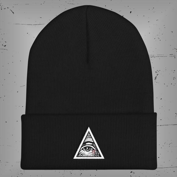 Illuminati Rejects Cuffed Beanie