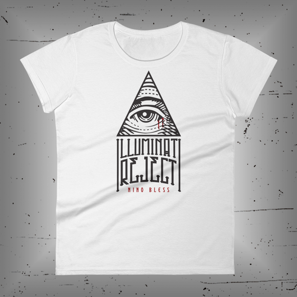 Illuminati Rejects Ladies Tee