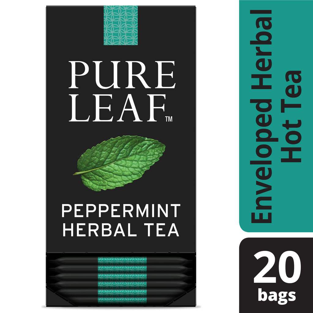 TEMPORARILY OUT OF STOCK: Pure Leaf Peppermint Herbal Tea 20 Count